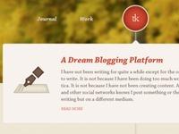 Blog Timeline
