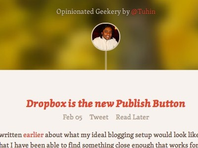 Opinionated Geekery blog cover skolar