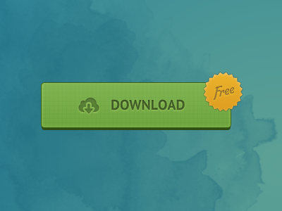 Just a download button (PSD attached) download button psd free