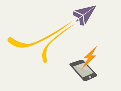 Feature Illustrations fast app update illustration