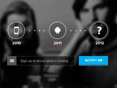 What's next? proxima nova pulse teaser flat