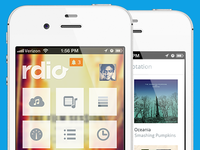 Rdio for iPhone