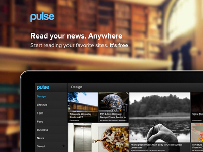 Introducing Pulse for Web pulse proxima nova website blurry
