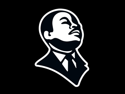 MLK ogdc martin luther king jr character design illustration graphic design graphic-design vector logo mlk