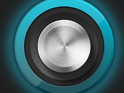 Dingdong iphone interface app button knob ui