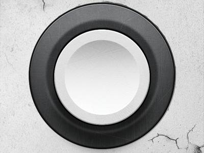Ding Dong doorbell button