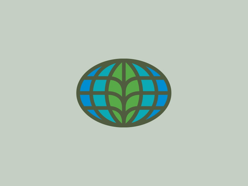 Sustainability leaf agriculture green eco sustainability earth world globe logo