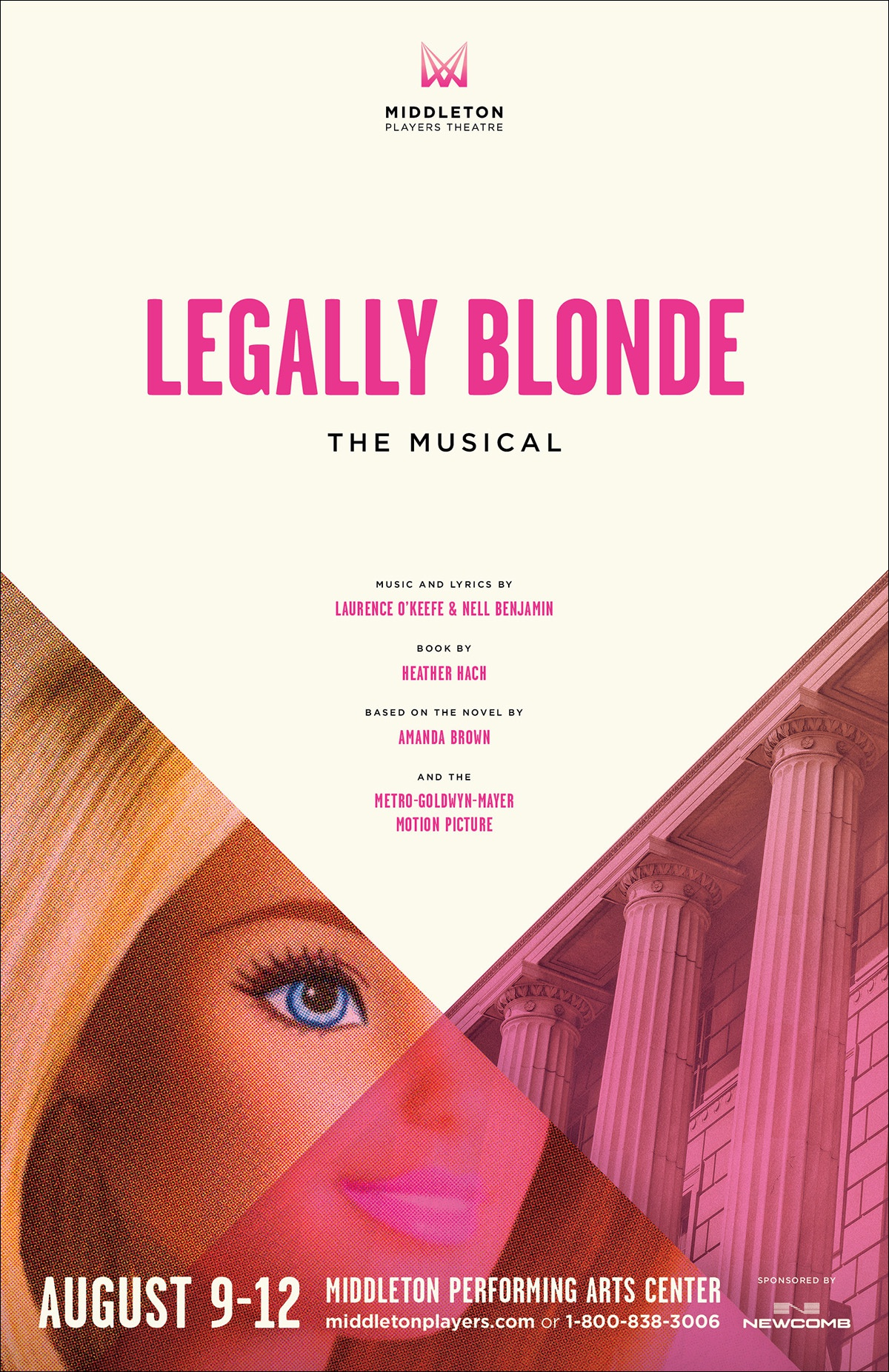 Paul j bartlett legally blonde poster