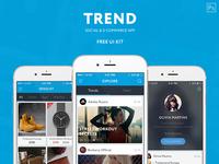 TREND –Free UI KIT