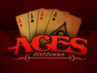 Aces Tattoos Logo