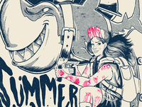 Summer Attack - Detail