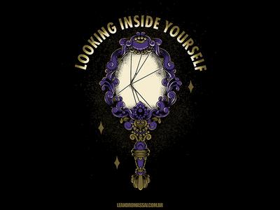 Looking Inside Yourself - (DESIGN FOR SALE) tshirt artworkforsale designforsale