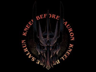 Kneel Before Sauron merch tshirt