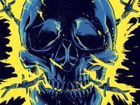 Bolt skull tshirt!