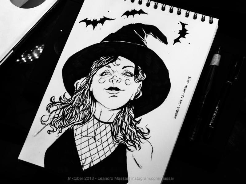 My INKTOBER last day! inktober inking sketch drawing