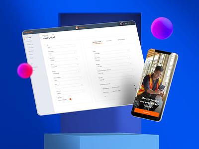 My Canary - A next generation app for construction site safety mobile app design mobile design mobile app mobile ui mobile design ux ui uxui apple app design app