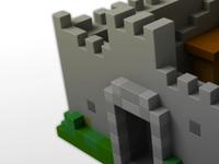 Castle Brick Voxel