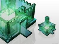 Castle remix = glass castle. Crystal Castles?