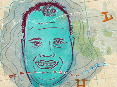 Frankie MacDonald sketch digital sketch canada weather