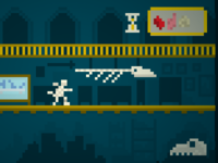 Imaginary video games: Museum Mummy