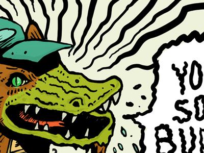 Swamp rocker
