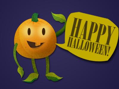 Little Pumpkin halloween illustration pumpkin vector