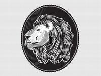 Etched Lion