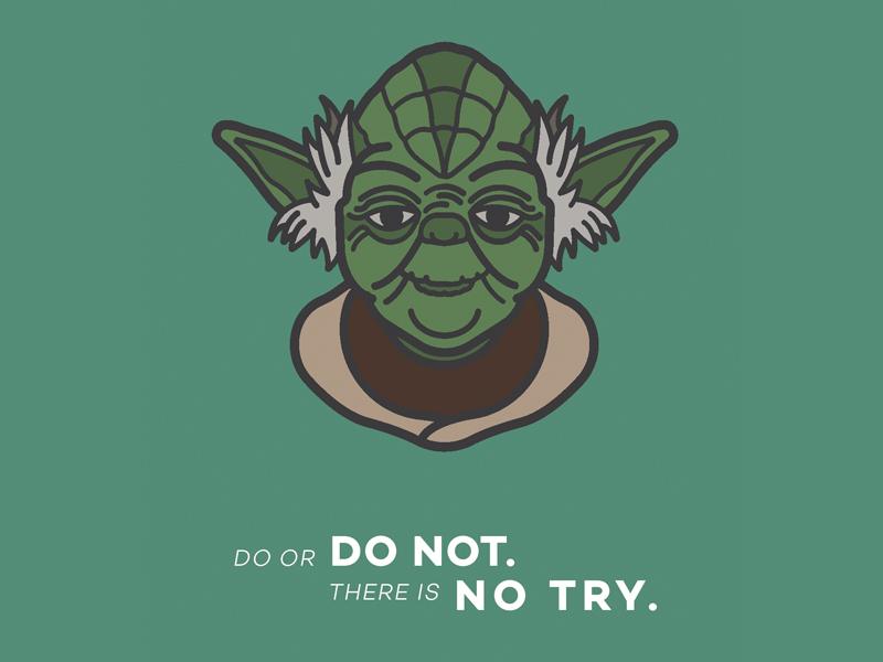 Yoda dribbble