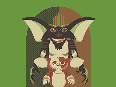 Gremlins spielberg creature screen printing print poster gremlins