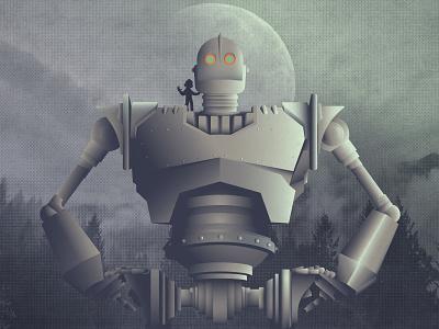 The Iron Giant disney cinema deisng robot the iron giant