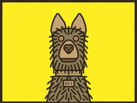 Isle of Dogs Wes Anderson Rex