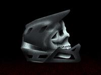 Skull Helmet MTB