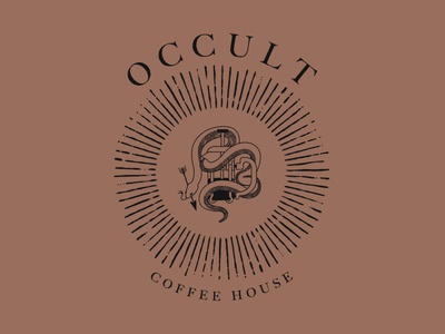 Occult Coffee House Branding