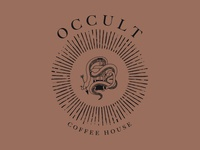Occult Coffee House Branding