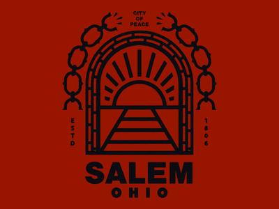 Sticker for Salem, Ohio