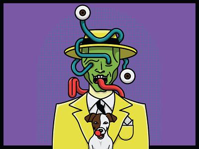 The Mask and Milo movie dog the mask jim carrey milo