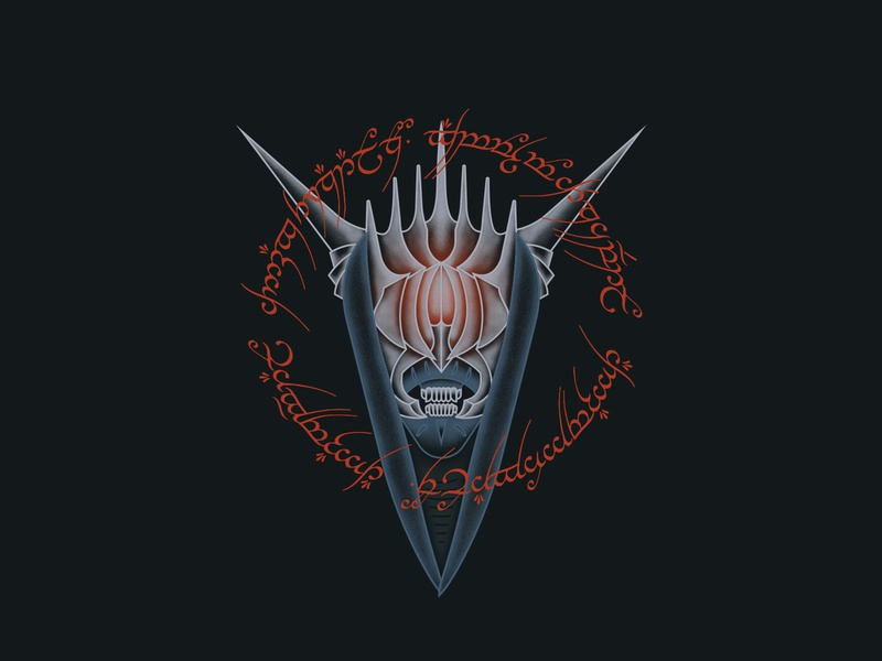 Mouth of Sauron Lord of the Rings demon monster jrr tolkien fantasy ring elvish lord of the rings sauron