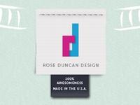 Rose Duncan Design site logo
