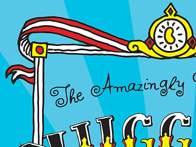 Packaging for Hand-Drawn, Circus-Themed Brand hand-drawn circus brand packaging