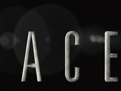 Space Title Preview space typography texture black  white noir