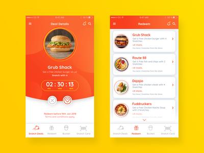 "Location based food app ""Snatchem"""