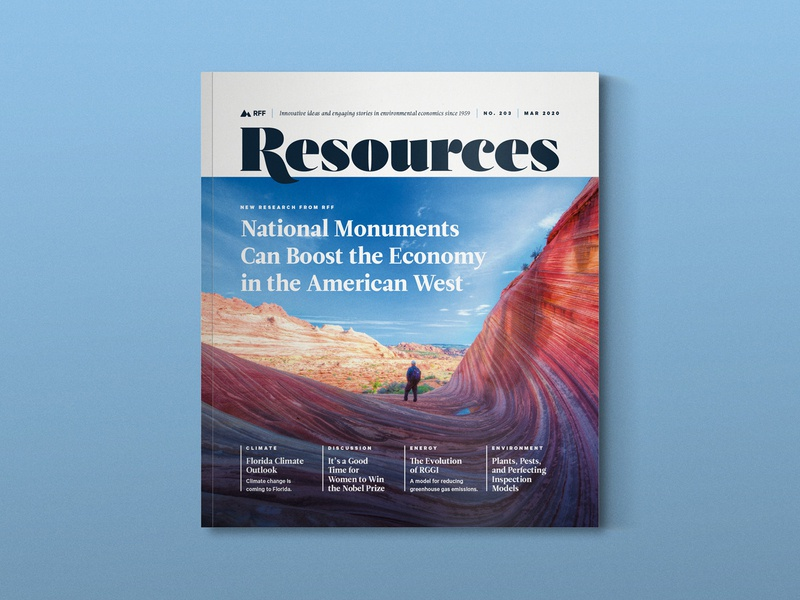 Resources Magazine Redesign