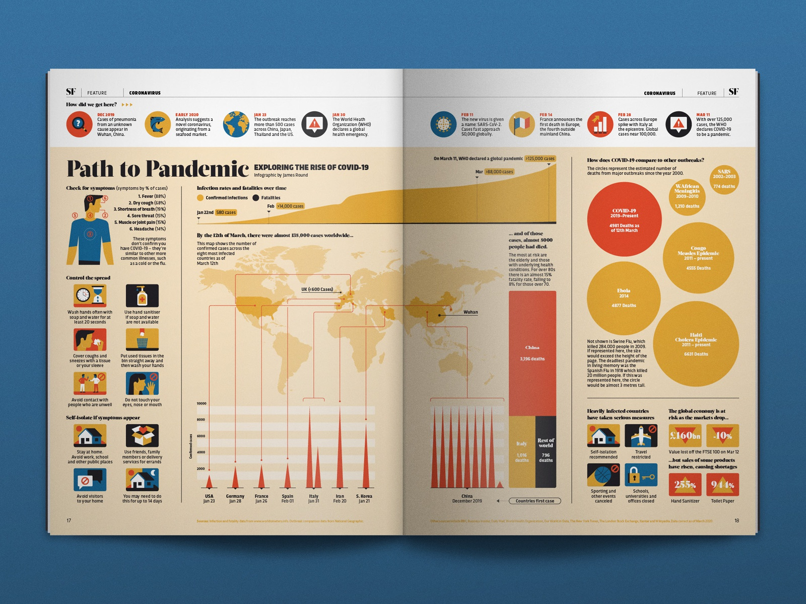 Path to Pandemic Data Visualization