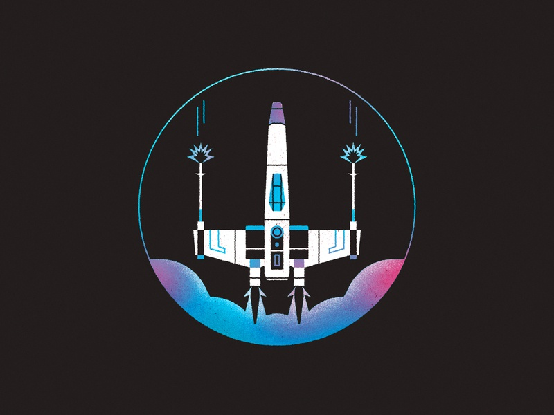 May the 4th be with you... star wars day rocket jedi cloud space xwing x-wing may star wars