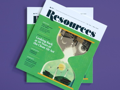 Resources Magazine earth day renewable energy research science editorial layout article feature cover environment magazine