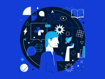 On the Dribbble blog: Thinking of going freelance? editorial icons career work advice blog freelance