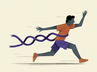 Is running ability in our DNA?