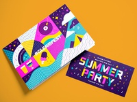 #GleamFest Summer Party Invite