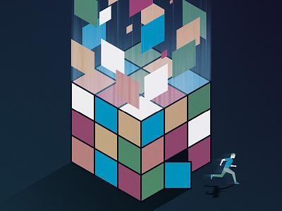 'Snowden' movie print thriller delve running rubiks cube movie film snowden