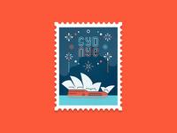 Travel Stamp No. 2 - Australia